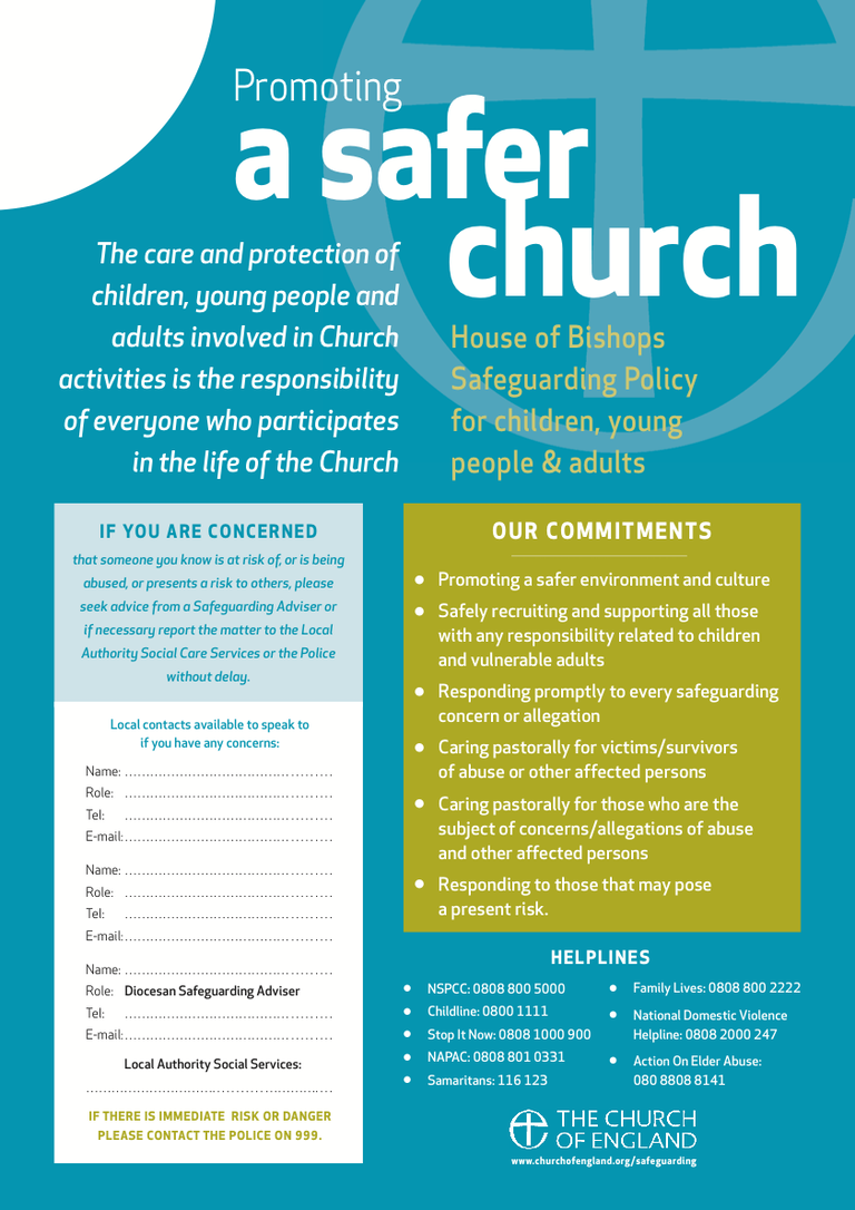 1 Safer Church poster 2021 - PosterA3webLOGO - Text fields - 20191105