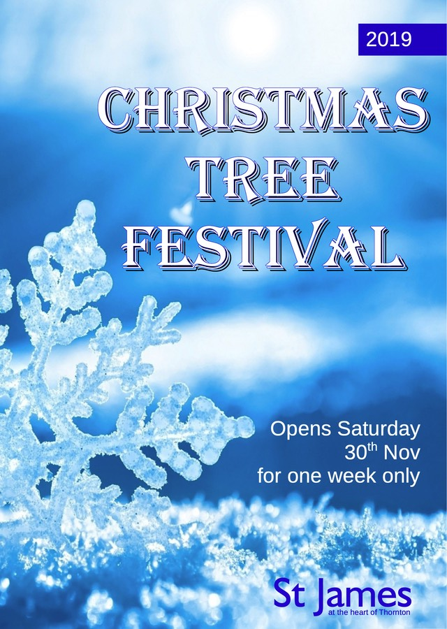 Christmas Tree Festival Front cover A5
