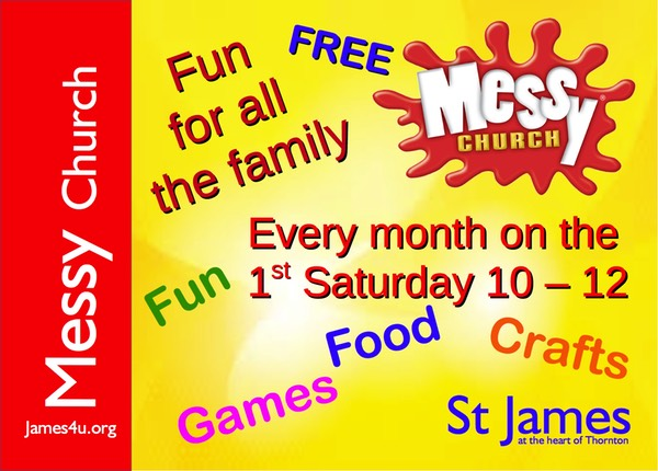 Messy church copy